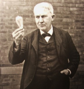 Edison, a man that shaped the world.