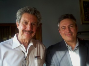 Robert Bigelow of Bigelow Aerospace and Troy Tudor